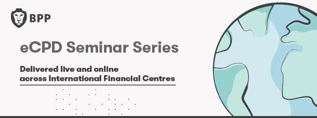 eCPD Seminar Series